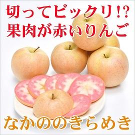 りんご なかののきらめき 新品種 長野